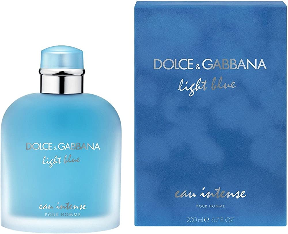 Dolce & gabbana light blue intense eau de parfum spray – 200 ml 0730870273630