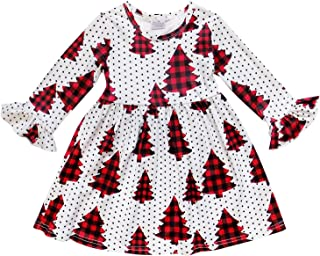 So Sydney Girls or Toddler Fall Winter Christmas Boutique Holiday Dress Long Sleeves