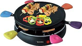 Appareil à raclette/Grill - 6 personnes - Multicolore - Triomph ETF1617