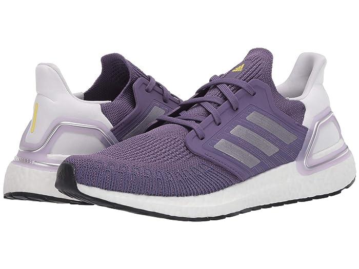 adidas Running  Ultraboost 20 (Tech Purple/Silver Metallic/Footwear White) Womens Running Shoes