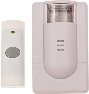 Security2020 WC180 Wireless Door Chime with Flashing Strobe Light
