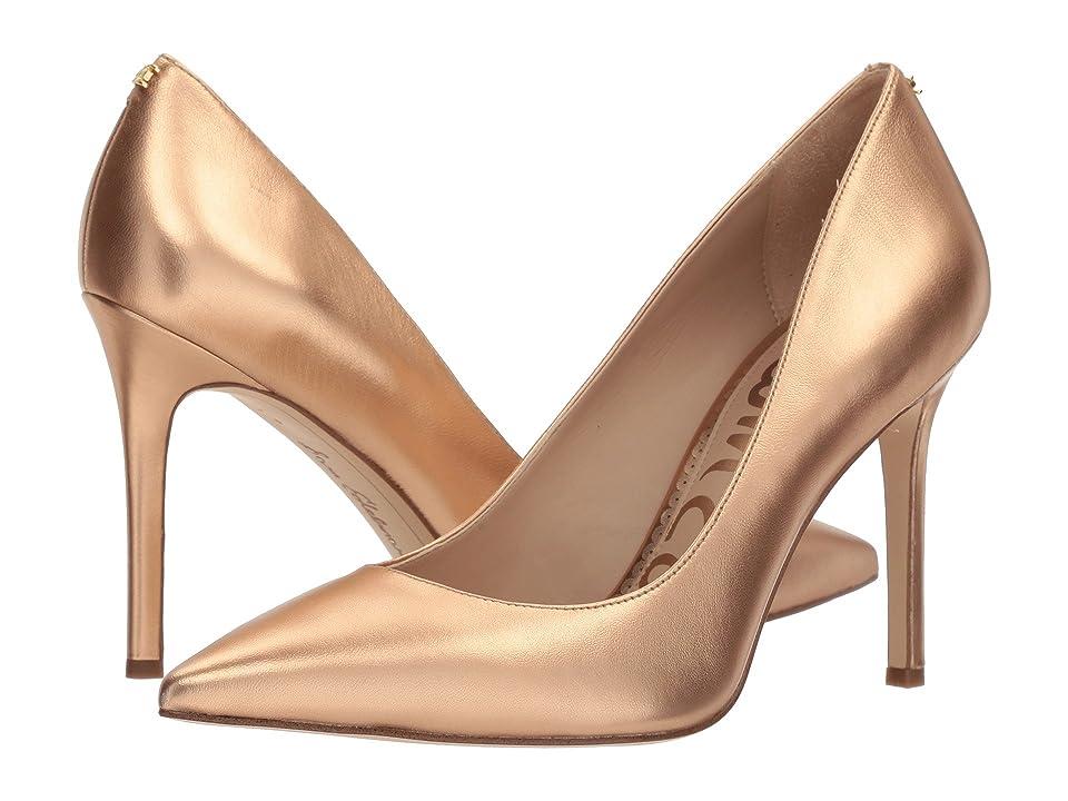 Sam Edelman Hazel (Golden Copper Soft Metallic Sheep Leather) Women's Shoes, Gold