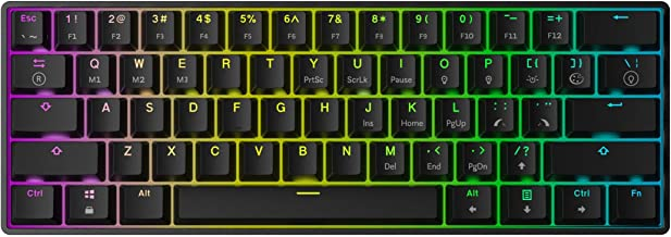 Competitive Dedicated HAOYUSHANGMAO TK09R RGB Mechanical Gaming Keyboard Color : Black US Version Has Axis Mechanical Keyboard Excellent Quality
