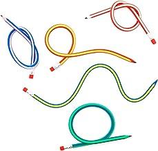Goods & Gadgets 10x Riesen Biegebleistift XXL biegsame Flexible Bleistifte Biegebleistifte 32cm