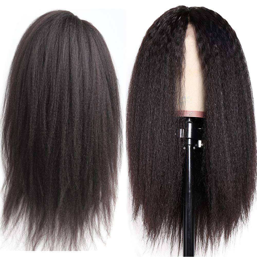 Kinky Straight Ranking TOP3 360 Lace Frontal Wig Hair Human Baby Pr with Max 60% OFF