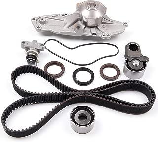 ECCPP Timing Belt Water Pump Kit Fit for 1997 1998 1999 2000 2001 2002 Acura Honda 3.0 3.5L J30A1 J35A1