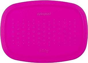 Minky Homecare Styling Mat, Hot Pink
