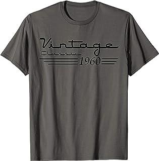 60th Birthday 60 Years Old 60th Vintage Retro 1960 Birthday T-Shirt
