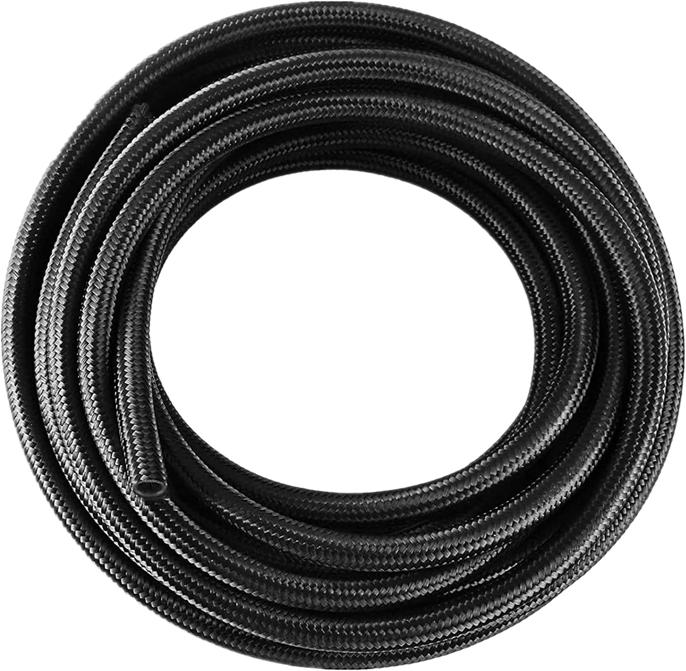 Limited time trial price Universal Oil Fuel Line Hose Direct store 10 8AN AN8 Steel Braid Ft Stainless