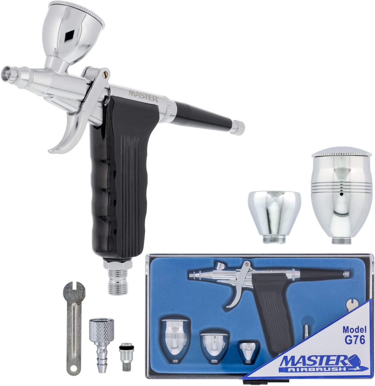 Master Airbrush Model G76 Multi-Purpose Pistol Dua Fixed Trigger At the price Large discharge sale
