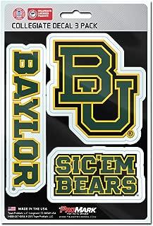 baylor university car stickers