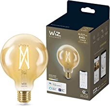 WiZ G95 E27 Filament Amber Bulb