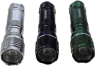 Duracell Durabeam Ultra 350 Lumens Tactical High-Intensity Compact LED Flashlight, 3-Pack