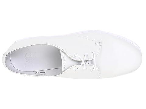 Zapato Martens Tie blanco 3 Dr 1461 suave IOw8qA