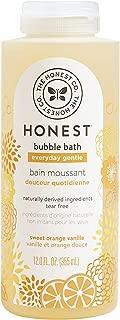 The Honest Company Everyday Gentle Sweet Orange Vanilla Bubble Bath Tear-Free Kids Bubble..