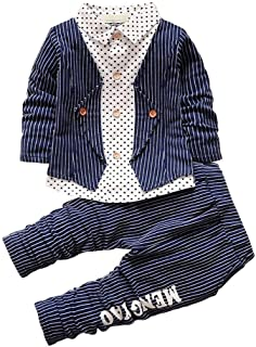 BibiCola Baby Boy Clothes Toddler Fall Sweatsuit Long Sleeve Tracksuits Set Newborn Kids Cute Outfits