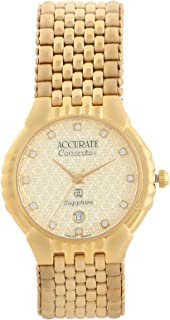 Accurate Casual Watch Analog for Women, Stainless Steel, AMQ1908