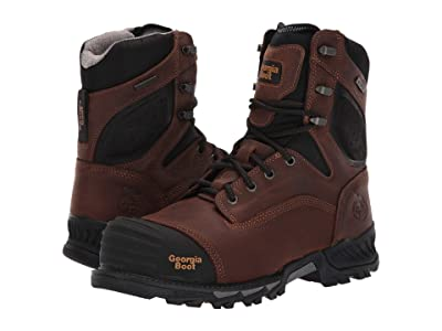 Georgia Boot Rumbler 8 Composite Toe (Brown) Men