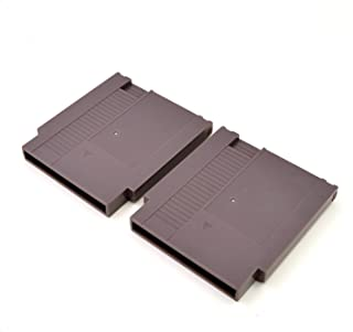 2PCS NES Cartridge Case Shell for Nintendo NES Games Cartridge With 3 Phillips head screws(Grey)
