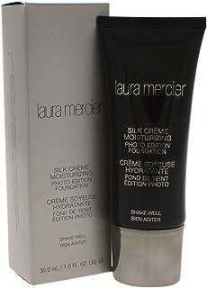 Laura Mercier Silk Creme Moisturizing Photo Edition Foundation - Medium Ivory for Women - 1 oz
