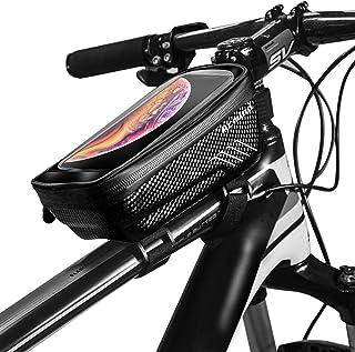 Acmind Bike Phone Mount Bag, Waterproof Bike Frame...