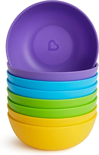 Munchkin Set de 8 Bols d'Alimentation - Multicolores