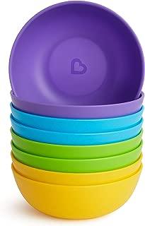 Munchkin 8 Piece Multi Toddler Bowl