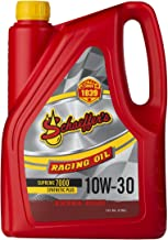 Schaeffer Manufacturing Co. 0709-006S Supreme 7000 Synthetic Plus Racing Oil, 10W-30, 1 gal