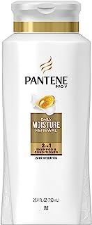 Pantene Pro-V Daily Moisture Renewal 2 in 1 Shampoo & Conditioner, 25.4 fl oz