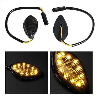 Perfect fit Honda CBR 600RR 600 F3 F4i 1000RR Amber Flush 12 LED Turn Signals Blinkers Pack of 2
