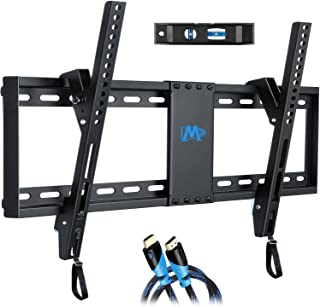 "Mounting Dream UL Listed TV Mount for Most 37-70 Inches TVs, Universal Tilt TV Wall Mount Fits 16"", 18"", 24"" Studs with Lo..."