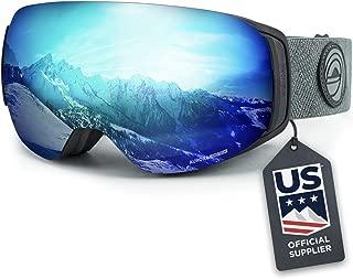 Wildhorn Roca Snowboard & Ski Goggles - US Ski Team Official Supplier - Interchangeable Lens - Premium Snow Goggles