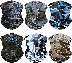 WONBURY Headwear Headband Bandana 12-in-1 Versatile Sports Seamless Neck Gaiter Sweatband Headwrap Balaclava Facemask Helmet Liner Tube for Camping Running Cycling Fishing Hiking