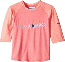 Bright Geranium Heather/Hot Coral Heather/Happy Camper
