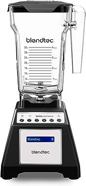 Blendtec Total Classic Original Blender - Fourside Jar (75 oz), Professional-Grade Power-6 Pre-Programmed Cycles-10-Speeds, B