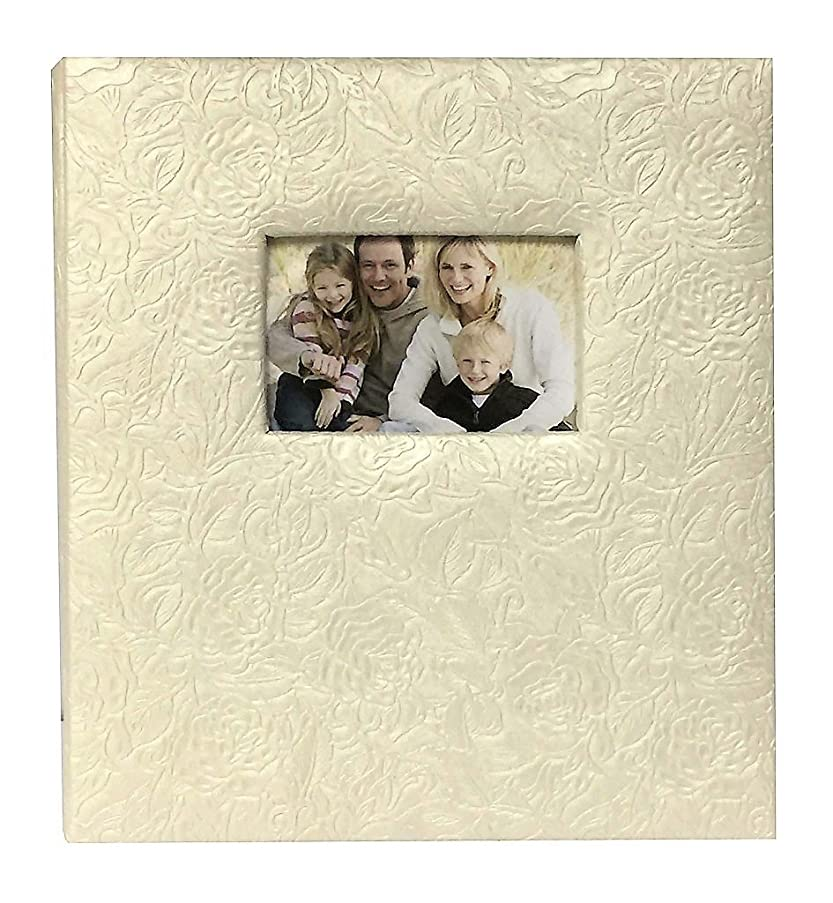 Pearl Climbing Rose 5-up Photo Album for 4