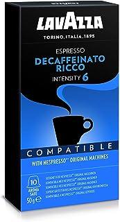 Lavazza Nespresso Compatible Decaf Ricco Capsules, 50g (10 capsules)