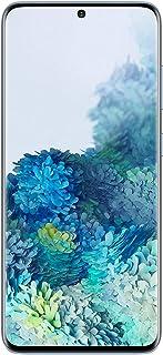 موبايل سامسونج جالاكسي S20 بشريحتين اتصال، 128 جيجابايت، ذاكرة RAM 8 جيجابايت، 4G LTE - ازرق فاتح