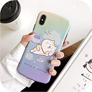 for Iphone11Promax Huawei Oppo Vivo Mobile Phone Shell Protective Cover Small Waist All-Inclusive Soft Shell-Shiba Inu-Oppo Reno