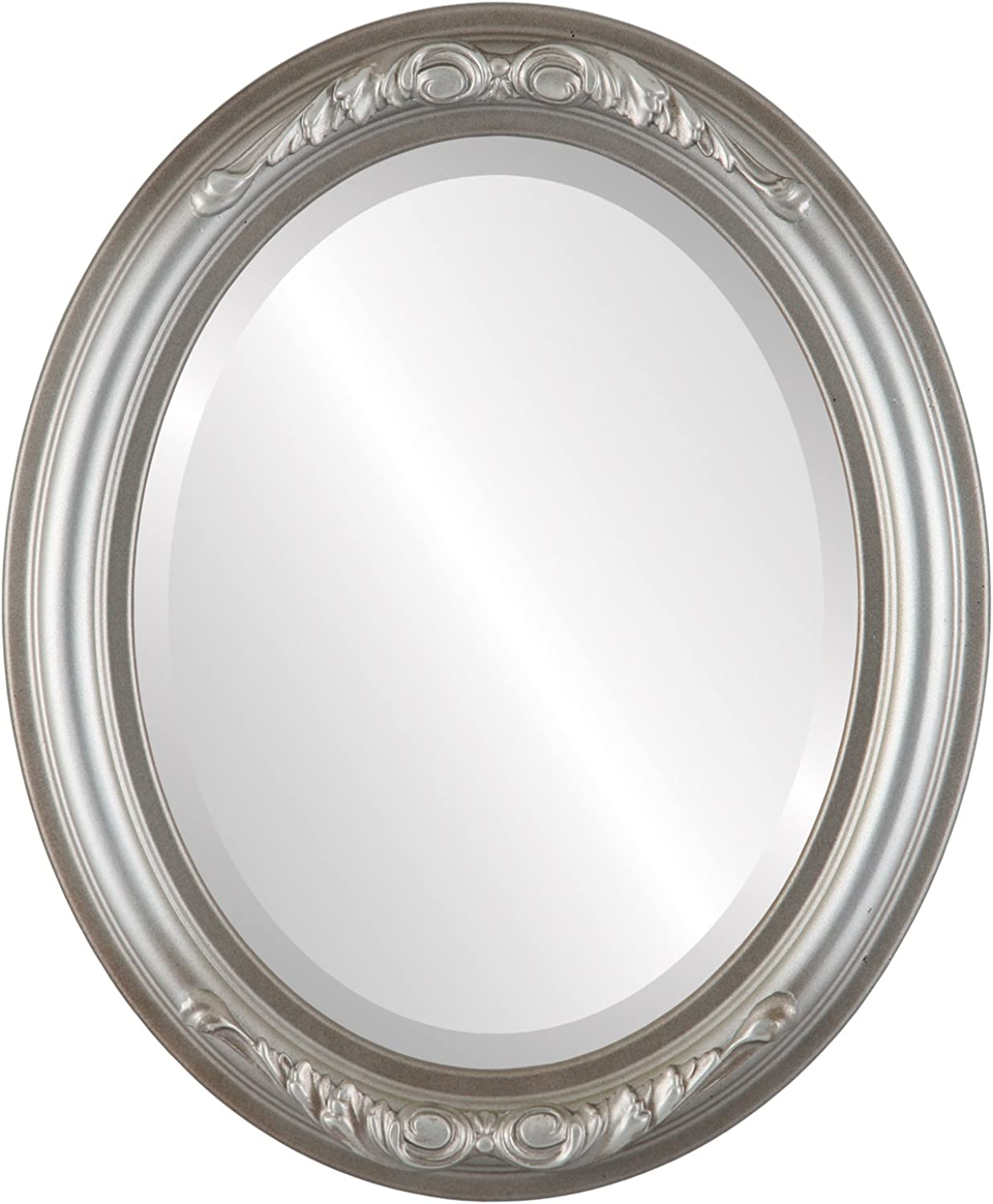Florence Oval in Silver Shade