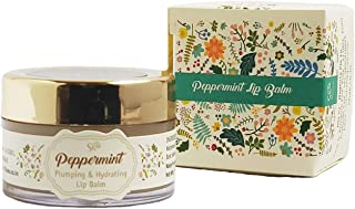 Peppermint Plumping Lip balm - Natural, Paraben Free for Soft & Fuller Lips