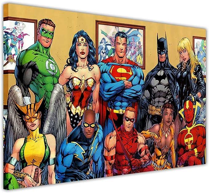 DC Comics Batman I am Batman Cartoon Comic Poster PRINT Size 61x91,5