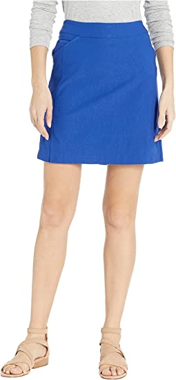 Stretch Bengaline Pull-On Skort