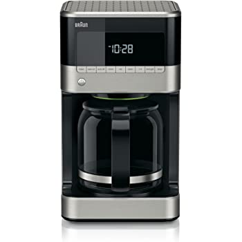 Braun Brew Sense Drip Coffee Maker, 12 cup, Black