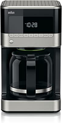 Braun Brew Sense Drip Coffee Maker, 12 cup, Black