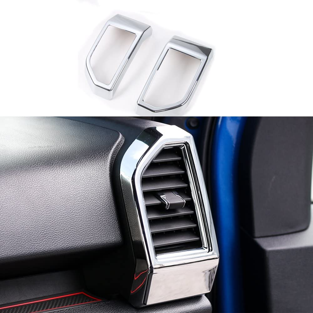 Chrome ABS Rear Air Condition Outlet Decor Vent Cover Ford For wholesale F Finally popular brand