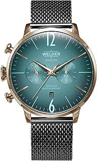 WELDER - Breezy Reloj para Hombre Analógico de Cuarzo con Brazalete de Acero Inoxidable WWRC1008