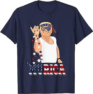4th Of July Trump Bae Funny USA Murica Bandana Sunglass Meme T-Shirt