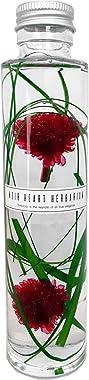 ハーバリウム ~Ruby ルビー ~シックでおしゃれなハーバリウムボトル~ 丸瓶1本180ml お祝い ギフト 父の日 プリザ プレゼント