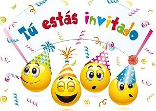 Hogar Y Cocina 20 Invitaciones Para Fiesta De Cumpleaños
